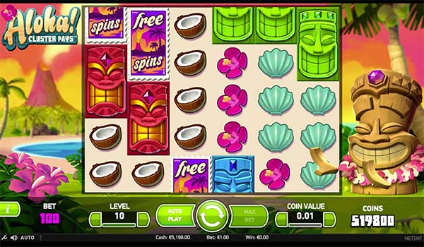 Aloha Video Slot NetEnt