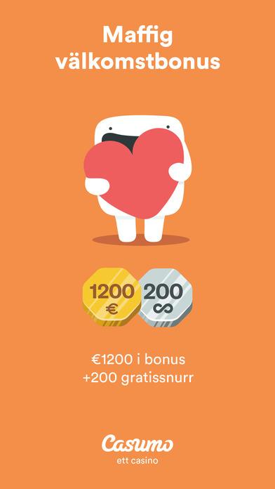 Casumo Mobil App Bonus