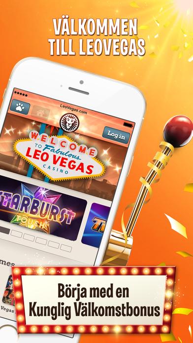 LeoVegas app bonus