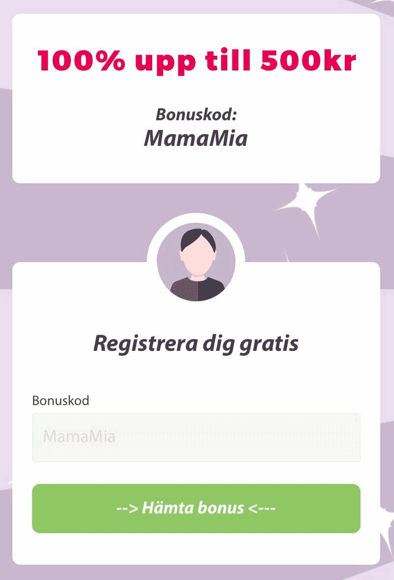 MammaMiaBingo Bonuskod