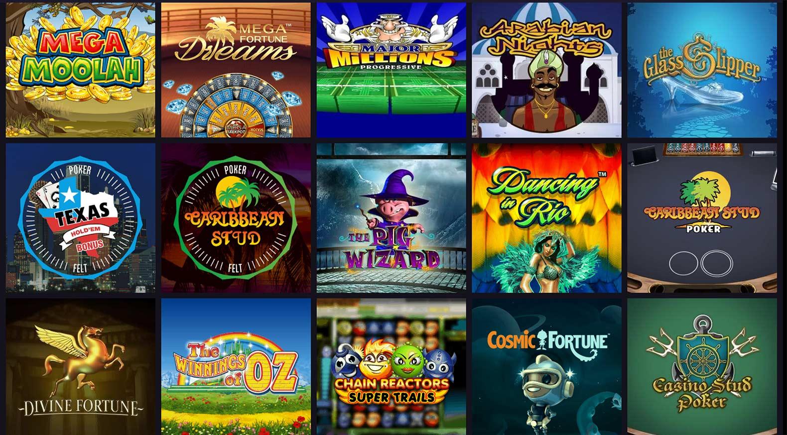 Maria Casino Populära Jackpots