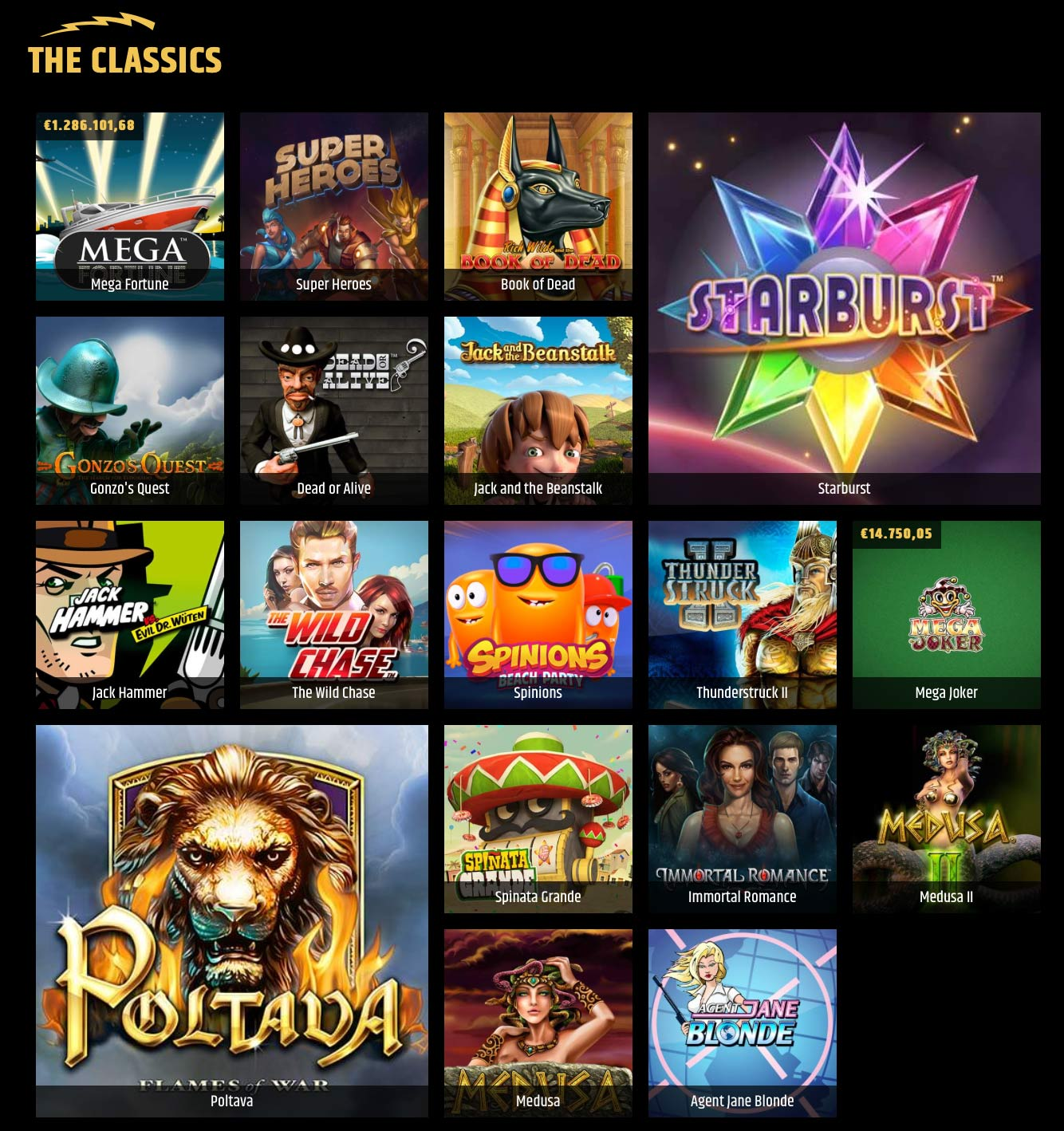 Metal Casino The Classics Slots