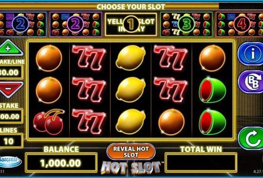 Hot Slot, nytt spel hos Vera&John