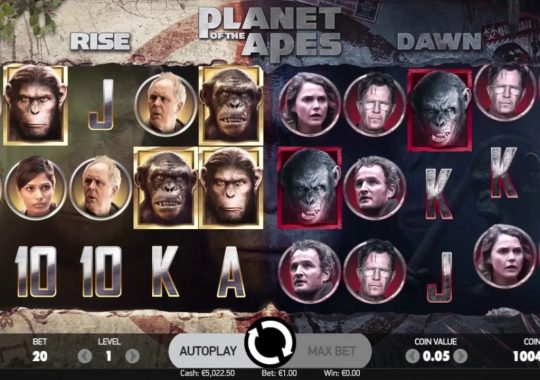 Planet of the Apes Slot från NetEnt
